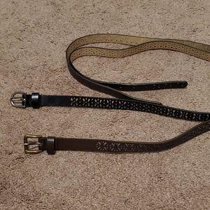 Accessories - Women's Belts, Set of 2